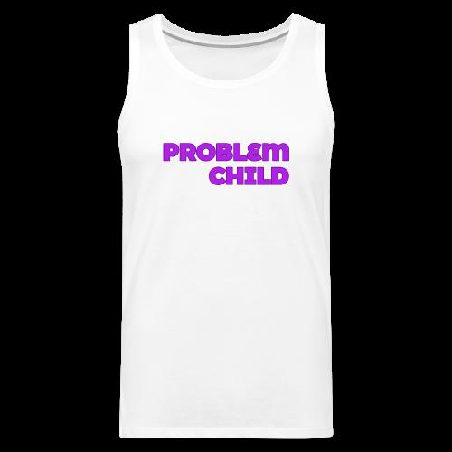 Problem Child Logo - Men's Premium Tank