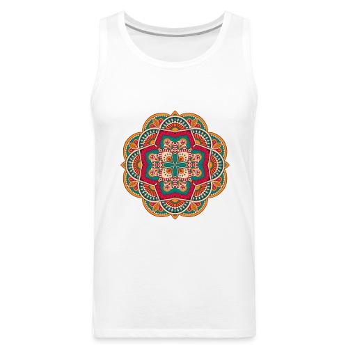 Yoga Mandala Design Shirt & Accessories - Men's Premium Tank