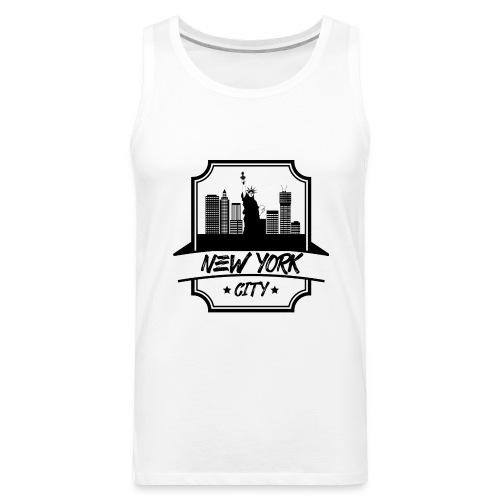NEW YORK CITY DESIGN 2018 - Men's Premium Tank