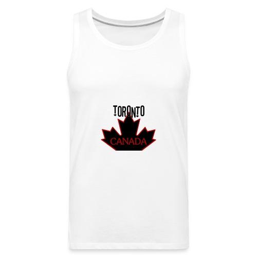 TORONTO CANADA - Men's Premium Tank