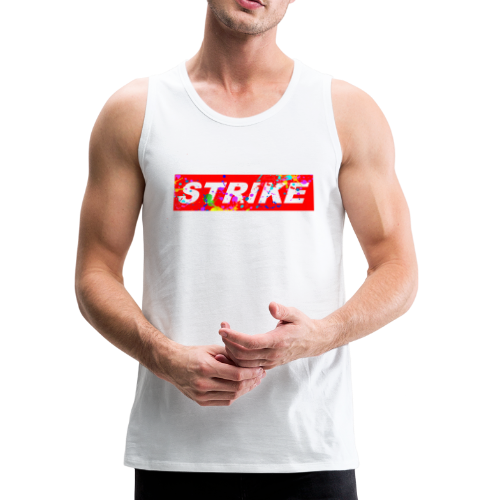 STRIKE COLORSPLASH - Men's Premium Tank