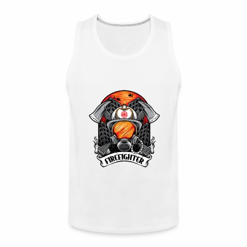 Firefighter - Men's Premium Tank