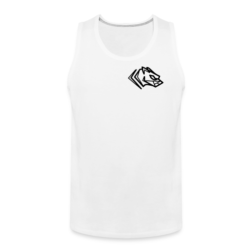 Kawmon Athleisure Gym Apparel Small Logo - Men's Premium Tank