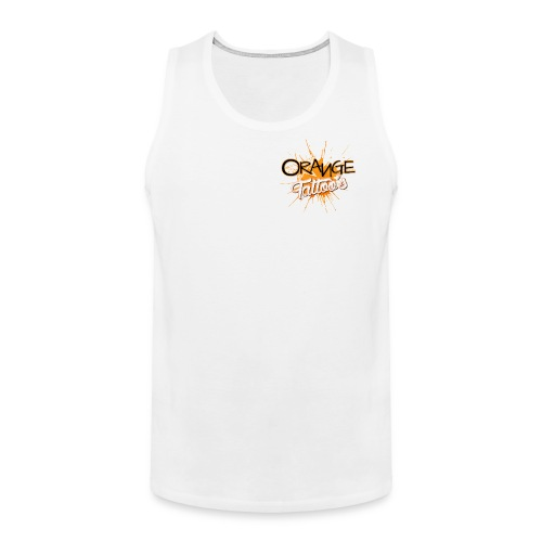Orange Tattoo's - Men's Premium Tank