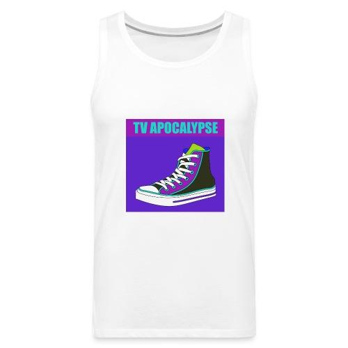 tvApocalypse Converse Shoe T-Shirt - Men's Premium Tank