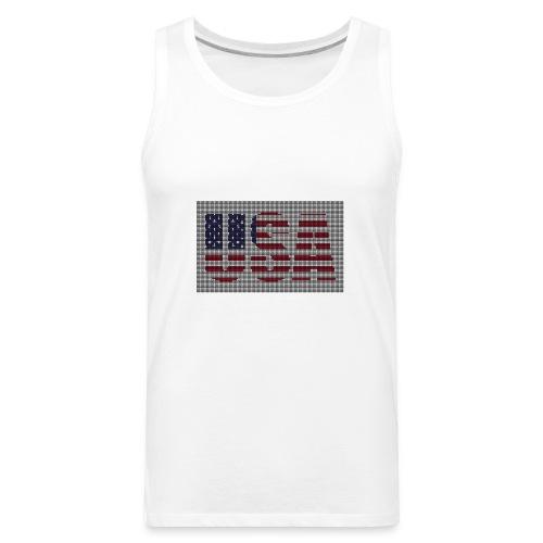USA - Men's Premium Tank