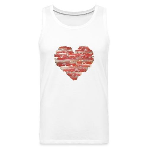 BACON = LOVE - Men's Premium Tank