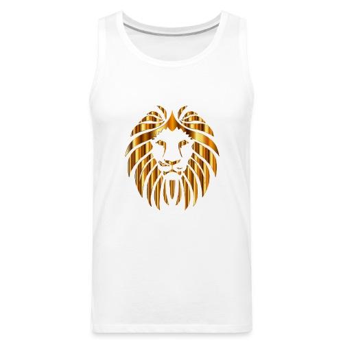 Gold Lion Design - Men's Premium Tank
