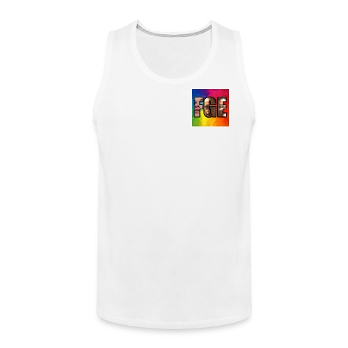 Fawa Gang Entertainment Logo - Men's Premium Tank