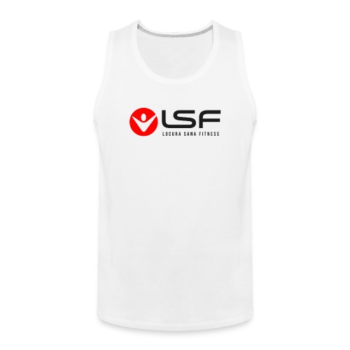 LSF Logo Black - Men's Premium Tank