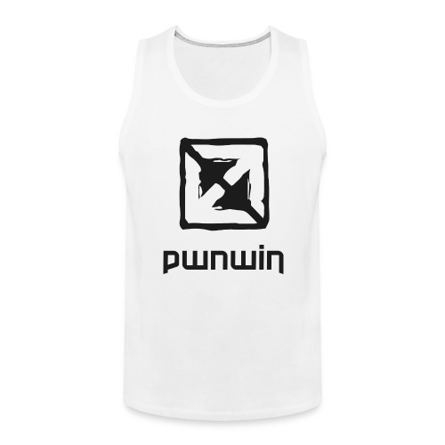pwnwin - play eSports and win cash & prizes - Men's Premium Tank