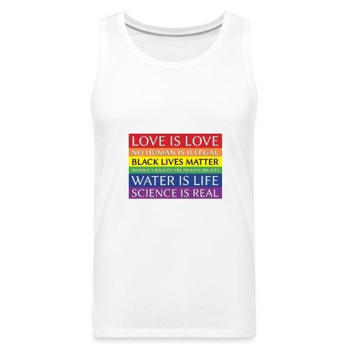 rainbow solidarity - Men's Premium Tank