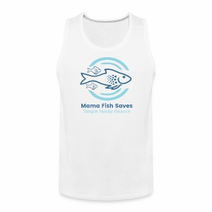 Mama Fish Saves Logo Print - Men's Premium Tank