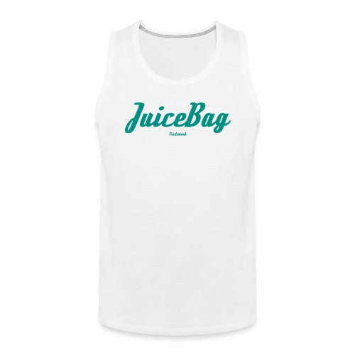Juicebag Teal - Men's Premium Tank
