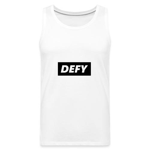 defy logo - Men's Premium Tank
