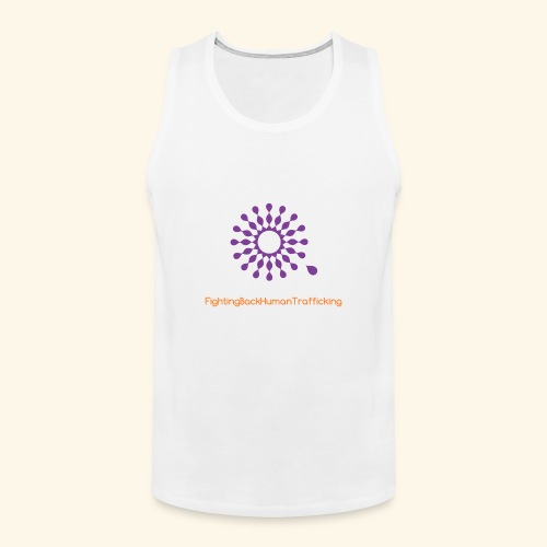 Fighting back human trafficking - Men's Premium Tank