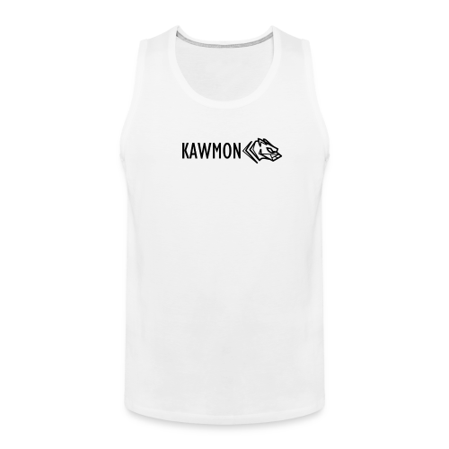 Kawmon Athleisure Gym Apparel Chest Logo - Men's Premium Tank