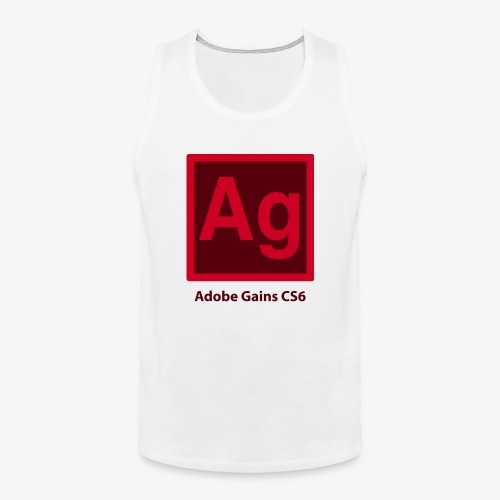 adobe gains - Men's Premium Tank
