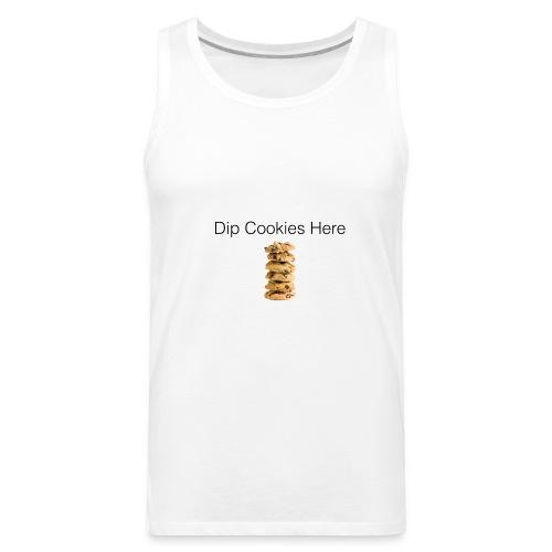 Dip Cookies Here mug - Men's Premium Tank