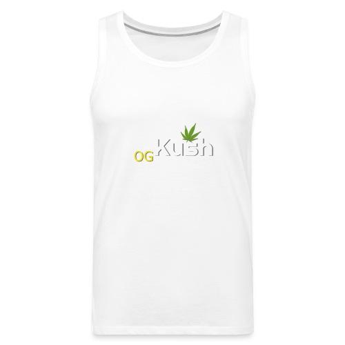 OG Kush t shirt - Men's Premium Tank