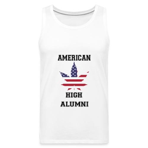 American High Alumni - Men's Premium Tank