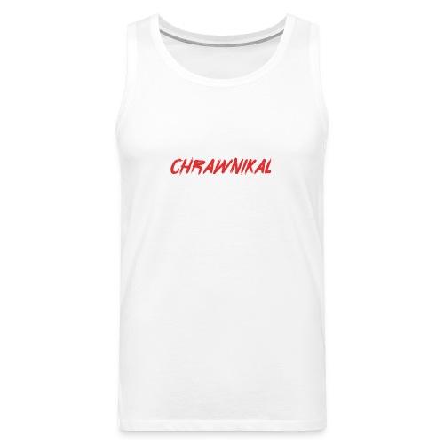 Chrawnikal Brush Style - Men's Premium Tank