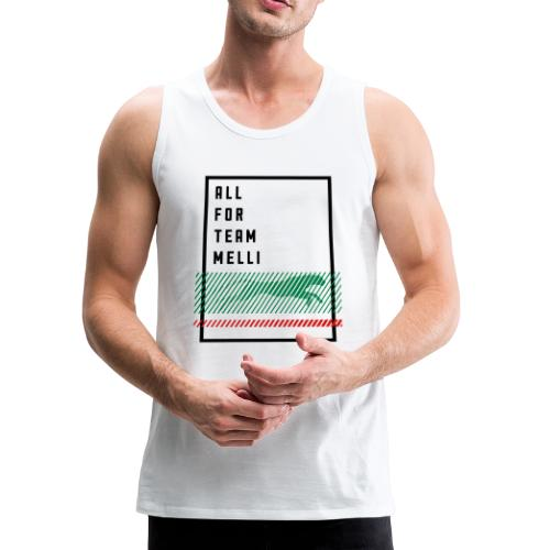 All For Team Melli - Men's Premium Tank