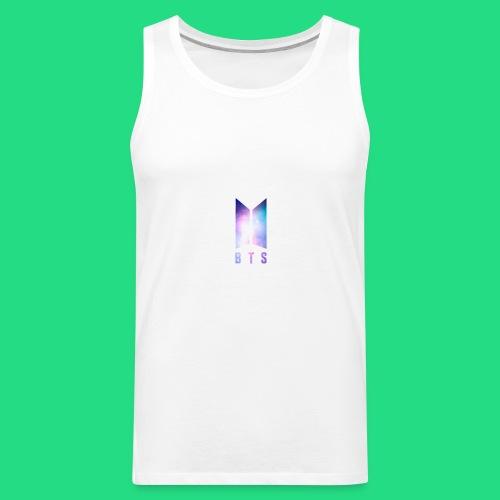 Galaxy BTS Bangtan Sonyeondan Logo - Men's Premium Tank
