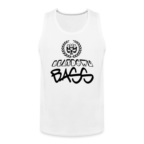 BEATDOWN BLACK LOGO - Men's Premium Tank
