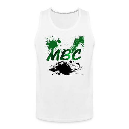 MinerBroConnor With Splatter - Men's Premium Tank
