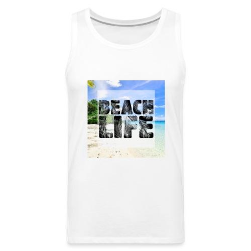 Beach Life Design - Men's Premium Tank