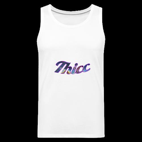 Thicc Galaxy - Men's Premium Tank