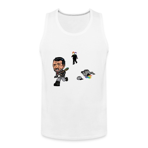 Negan Spreading Rainbow - Men's Premium Tank