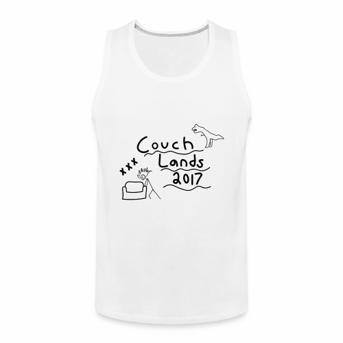 #CouchLands2017 - Men's Premium Tank