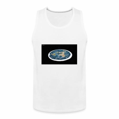 Flat Earth From Space - Men's Premium Tank