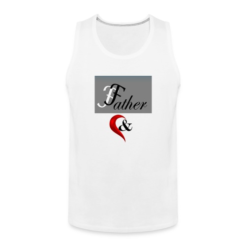 father n son 1 - Men's Premium Tank