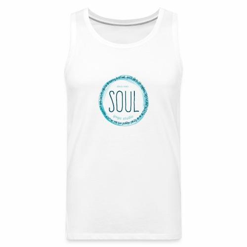 Soul Yoga T-shirt Design - Men's Premium Tank