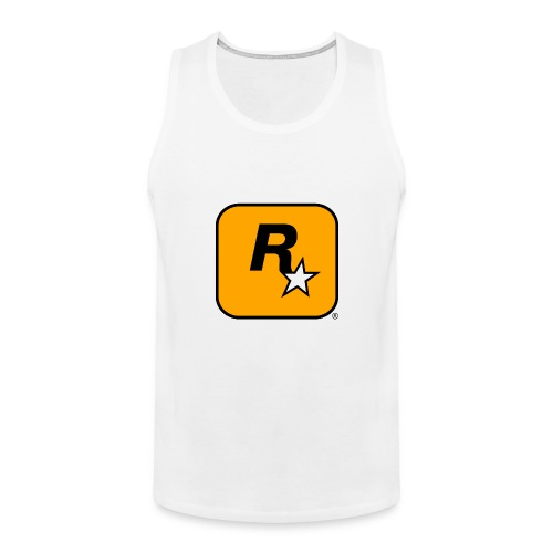 Rockstar Games Theme - Men's Premium Tank