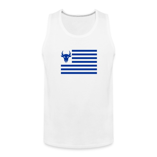 PivotBoss Flag Cobalt - Men's Premium Tank