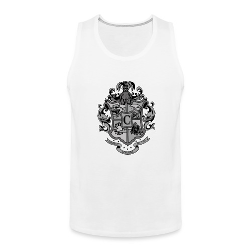 Coat of Arms with Bunny - Men's Premium Tank