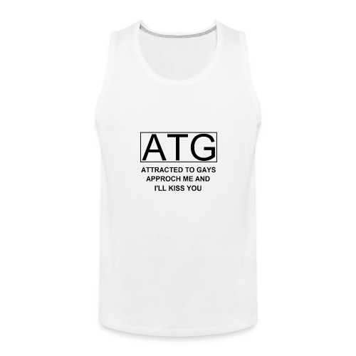 ATG Attracted to gays - Men's Premium Tank