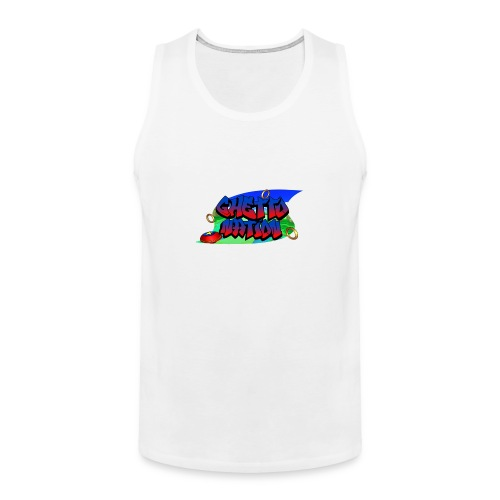 GHETTO HOG 5 (Plus Size) - Men's Premium Tank