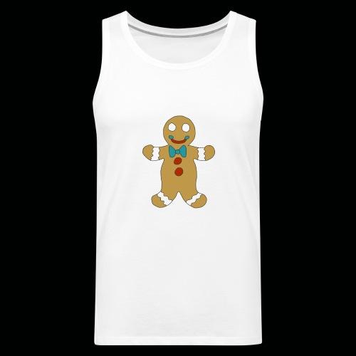 Gingerbread Man - Men's Premium Tank