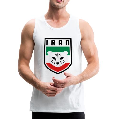 Iran Cheetah Badge - Men's Premium Tank