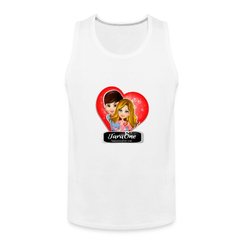 Love Heart Shirts - Men's Premium Tank