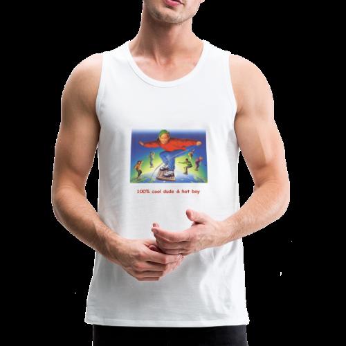 hot boy t-shirt - Men's Premium Tank