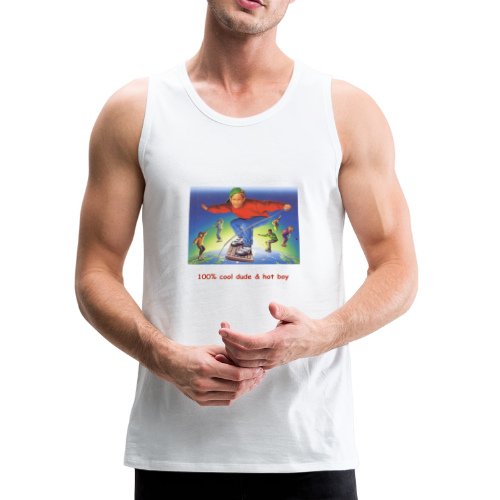 hot boy t-shirt - Men's Premium Tank