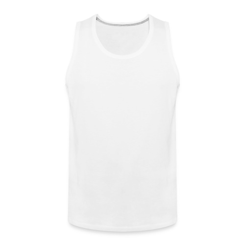 White Vall Co Cross Design - Men's Premium Tank