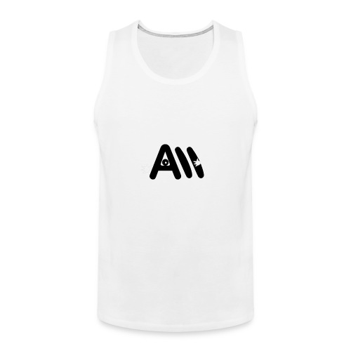 Artist Monster Logo - Men's Premium Tank