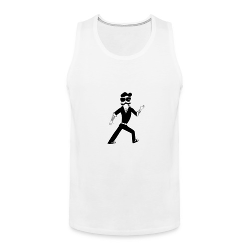 The Famous Mr Warrior - Men's Premium Tank